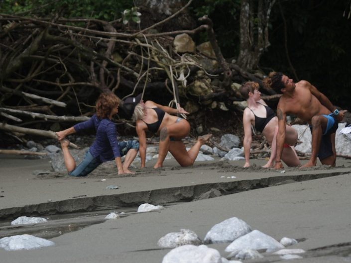 Beach Yoga Costa Rica