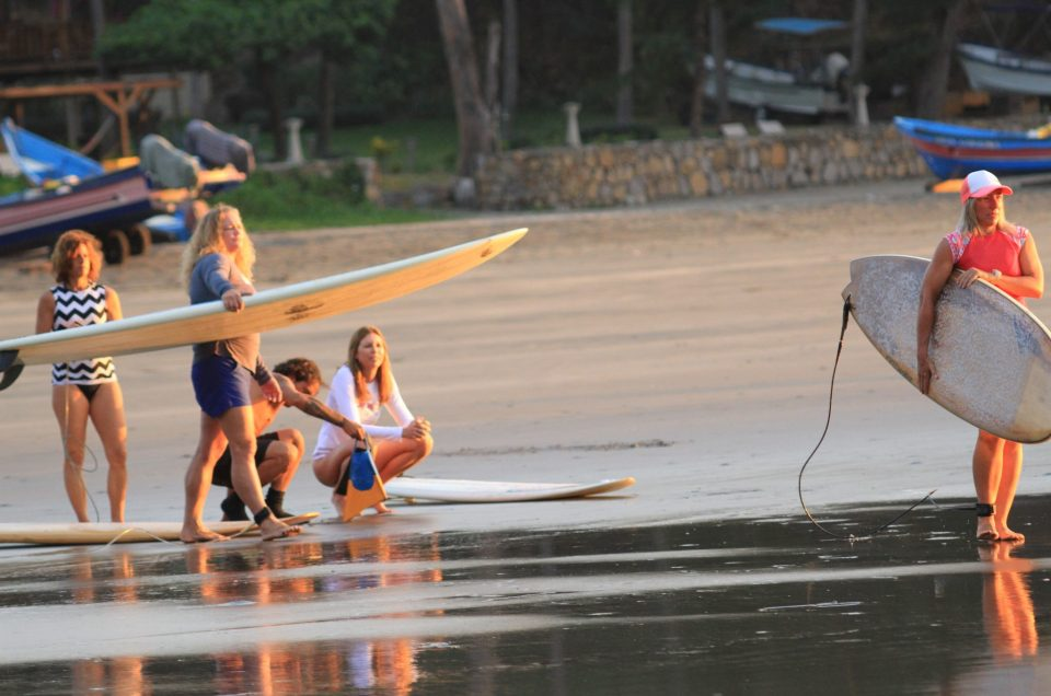 Surfing Sisters ~ Featured in Delta Sky Magazine