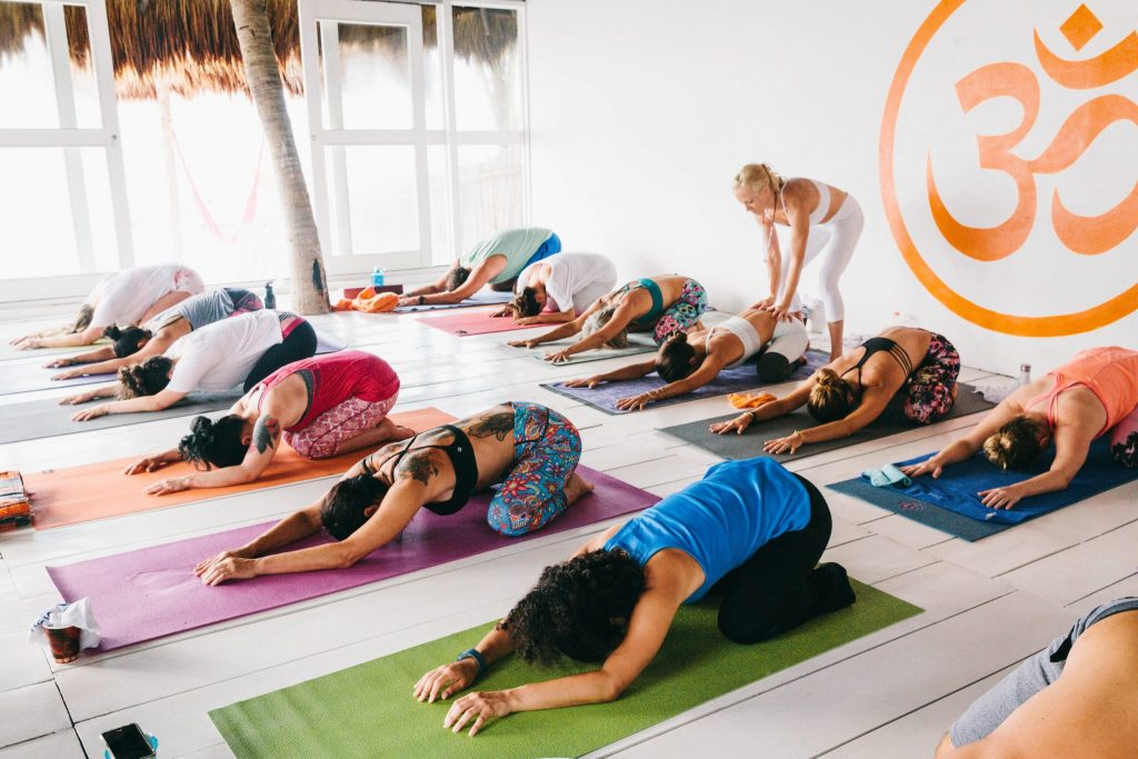 yoga brings together communities