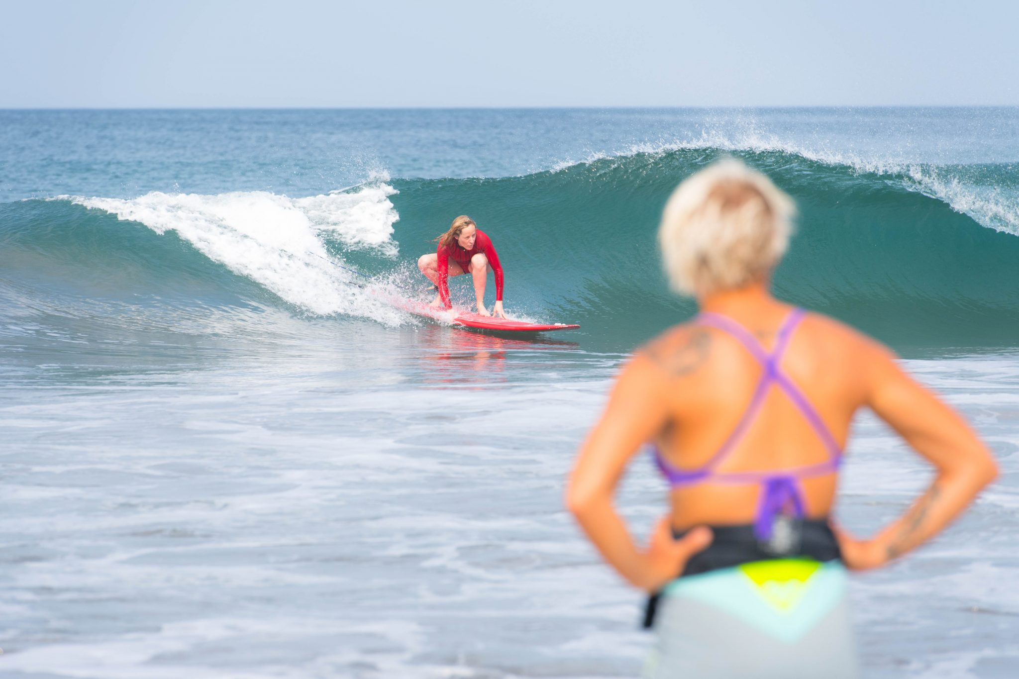 A surfer's glow, all year long