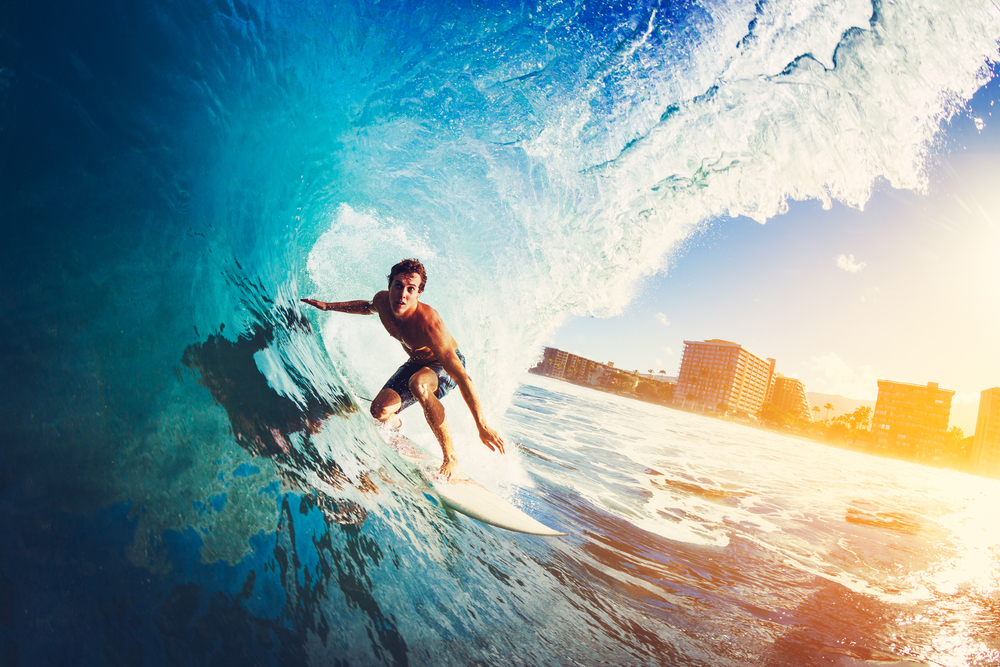 surfing and green living