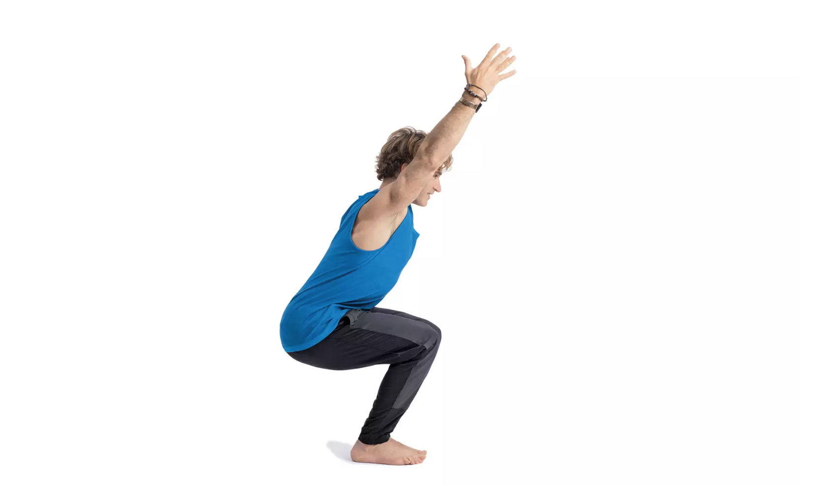 Chair Pose, from Yoga Journal