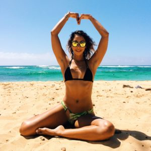Yoga on the Beach with SwellWomen and Heather Namaste