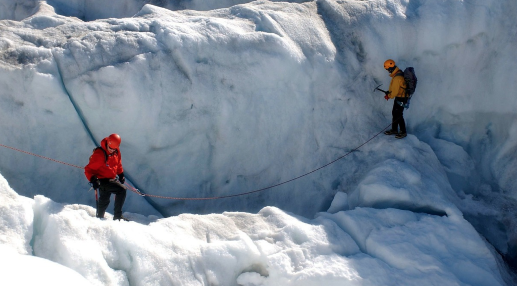Extreme Sport: Glacier Climbing
