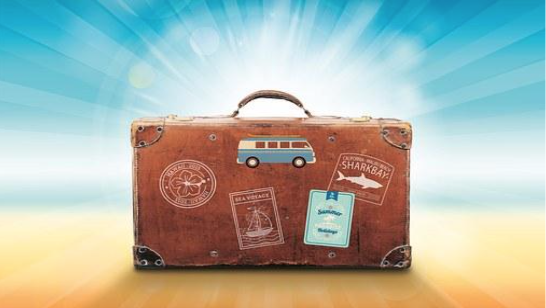A good suitcase is a travel essential